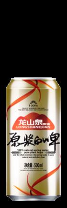 丹东原浆白啤易拉罐500ml