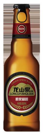 龙山泉原浆啤酒