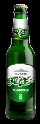 Pure draft beer